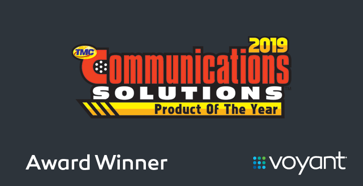 2019 Communications Solution Product of the Year Award